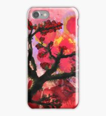 Trees in Chinese Art #1 iPhone Case/Skin