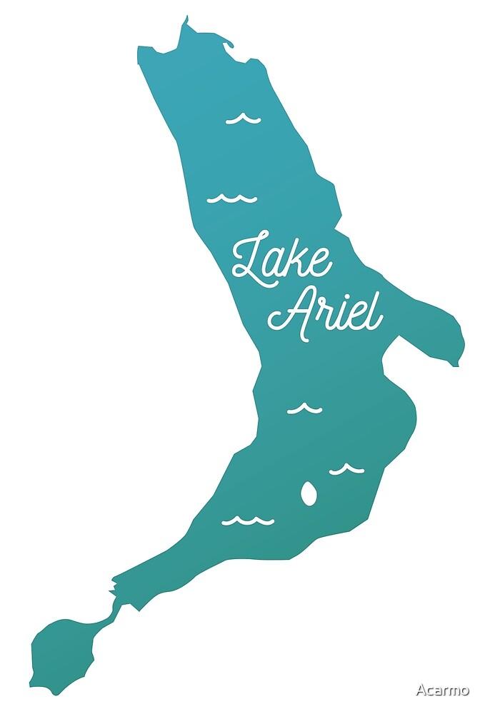 Lake Ariel - PA by Acarmo