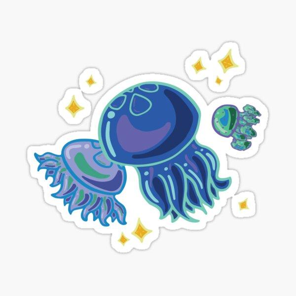 Blue Jellies Sticker