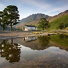 Sunrise over Haystacks at Buttermere in the English Lake District by Martin Lawrence