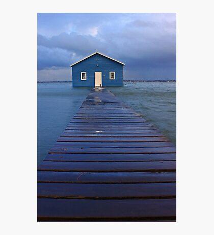 Storm Surge At Crawley Edge Boatshed  Photographic Print