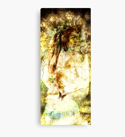 Sifted Saint Canvas Print