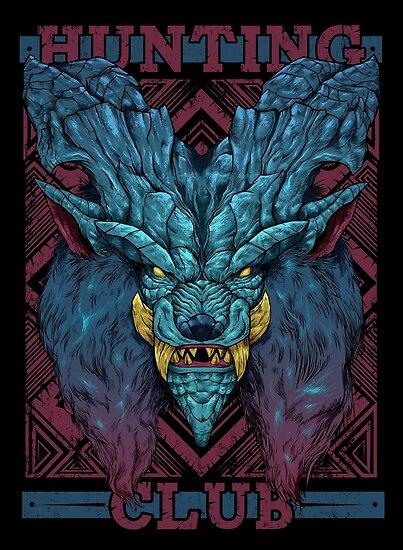 'Hunting Club: Lunastra' Poster by MeleeNinja