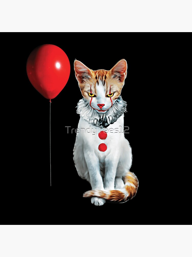 Cat Clown Kitten by TrendyTees12