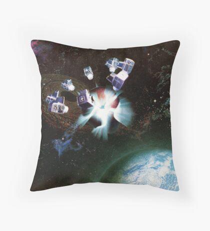 Re-Birth Throw Pillow