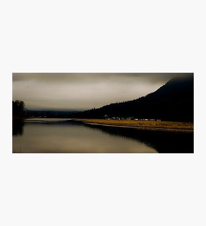 Reflections on Hatzic Photographic Print