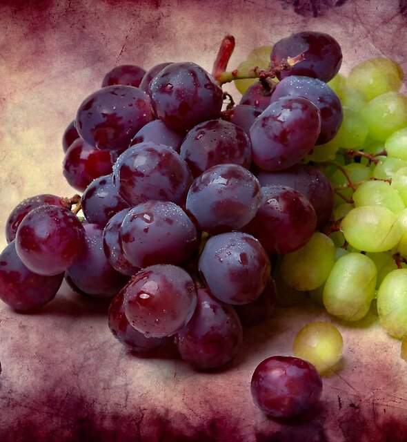 Grapes Red And Green by funnypixel