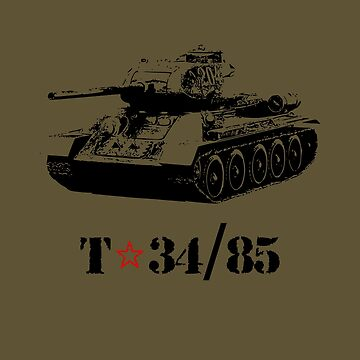 t34 85 tank by bumblethebee