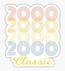 Born 2000 vintage Sticker