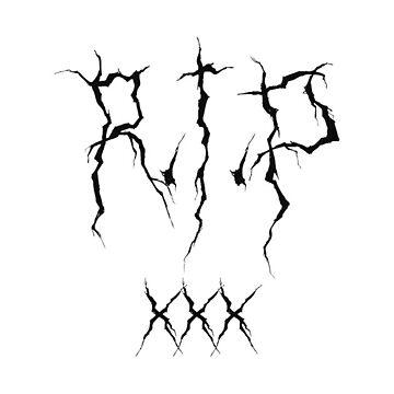 RIP XXX- XXXtentation T Shirt by HartleyX