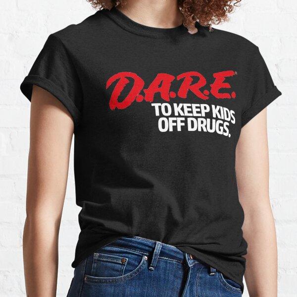 Dare Shirt - D.A.R.E. (Dare) Vintage 90's Logo Shirt Classic T-Shirt