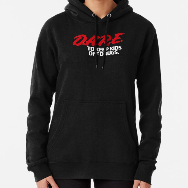 Dare Shirt - D.A.R.E. (Dare) Vintage 90's Logo Shirt Pullover Hoodie