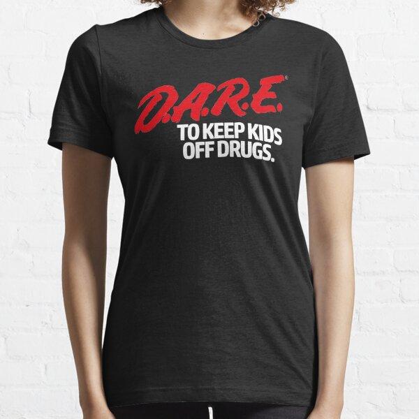 Dare Shirt - D.A.R.E. (Dare) Vintage 90's Logo Shirt Essential T-Shirt