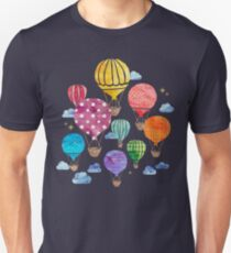 Hot Air Balloon Night T-Shirt
