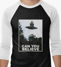 Can You Believe? Men's Baseball ¾ T-Shirt