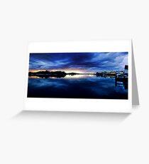 Blue Breckenridge Greeting Card