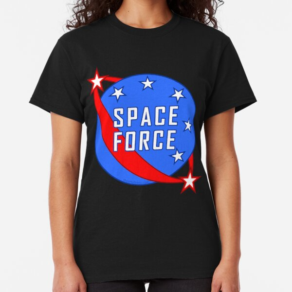 Space Force Logo Red White And Blue Classic T-Shirt