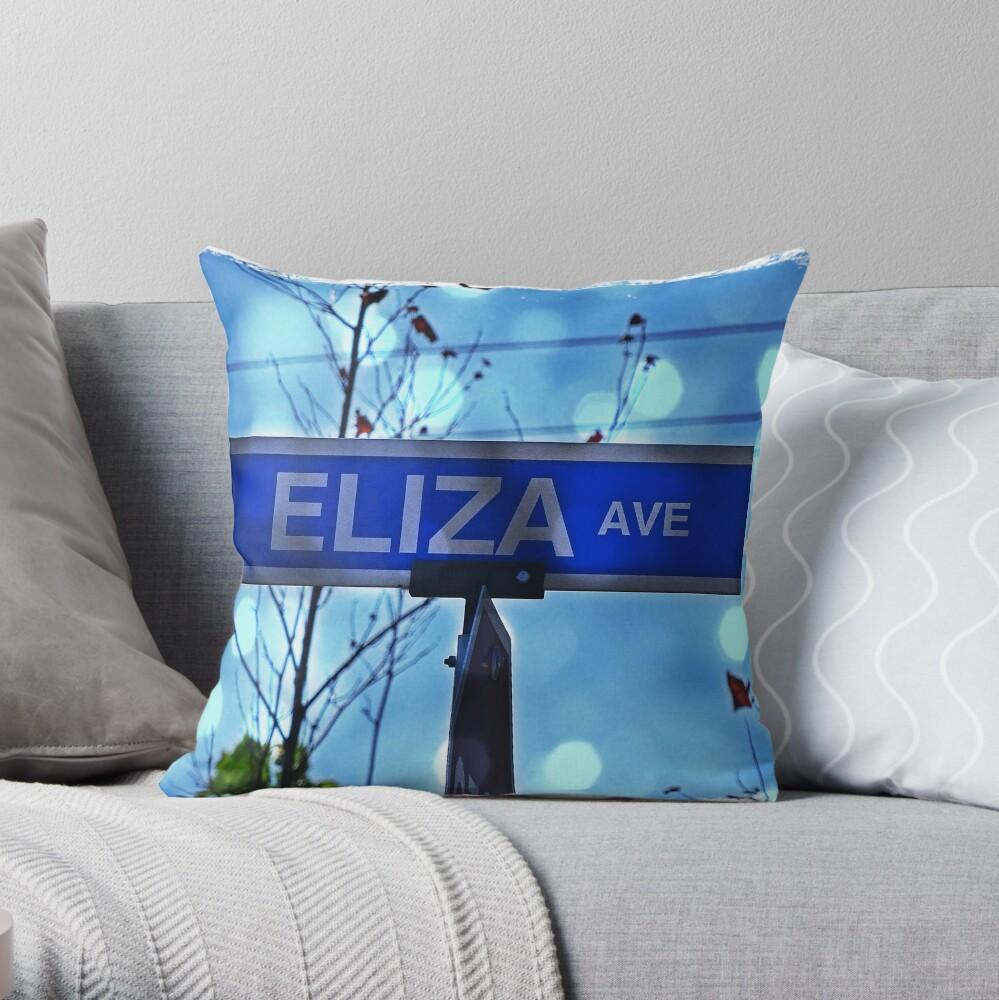 ElizaAve Throw Pillow