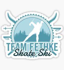 Team Fethke Skate Ski Sticker
