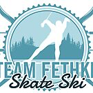 Team Fethke Skate Ski by bigfatdesigns