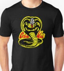 Cobra Kai Shirt- Vintage Distressed Style- Retro 80s and 90s Vintage Movie Shirt Slim Fit T-Shirt