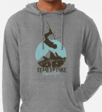Team Fethke: Freestyle (Brown/Blue) Lightweight Hoodie