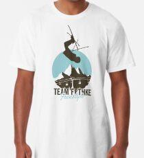 Team Fethke: Freestyle (Brown/Blue) Long T-Shirt