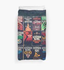 Stephen King Book Fronts Duvet Cover
