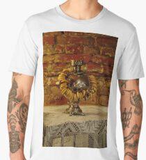 Russian samovar and sushki Men's Premium T-Shirt