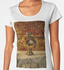 Russian samovar and sushki Women's Premium T-Shirt
