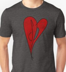 SP Heart - Smashing Pumpkins  - Retro Vintage Style Music Shirt Unisex T-Shirt