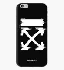 Off-White Arrows Temperature Glitch (Dark) iPhone Case