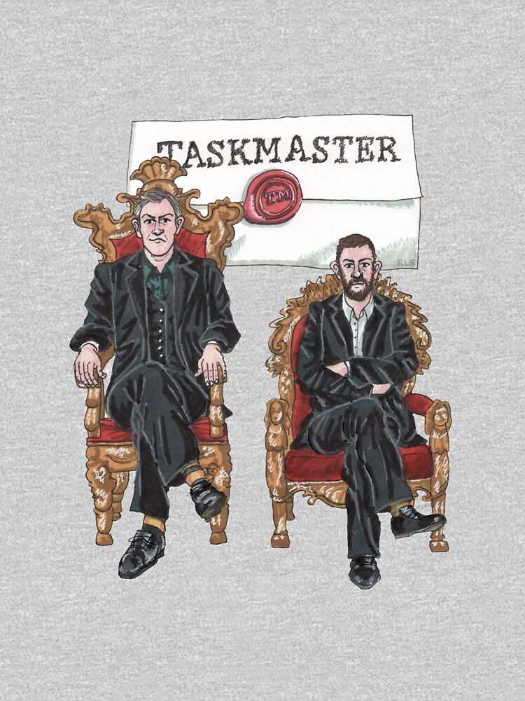 Taskmaster - Greg Davies and Alex Horne by RayLeSaux