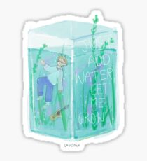 Just add water - Cavetown Sticker