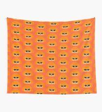 Sedgwick Rocking Orange Orbison Wall Tapestry