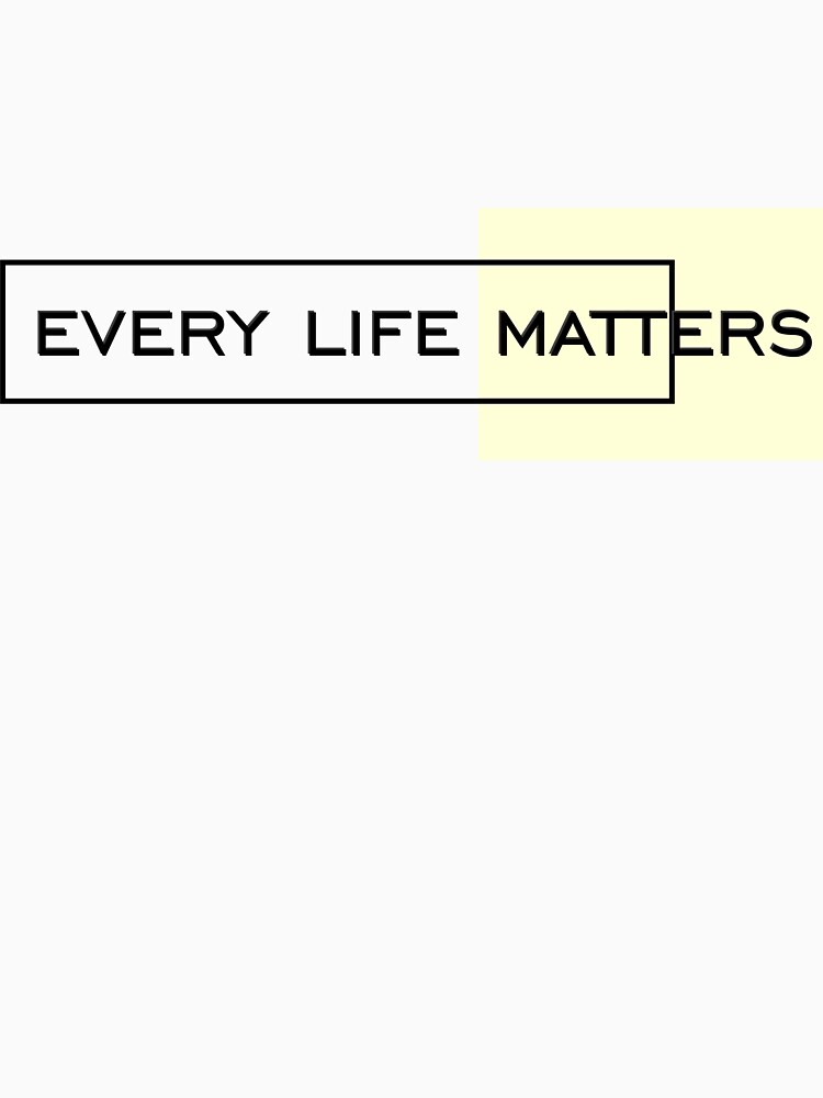 every life matters by marcelacast