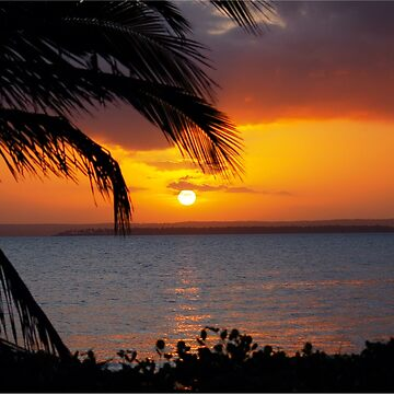 AFRICAN SUNSET - MOZAMBIQUE by mags
