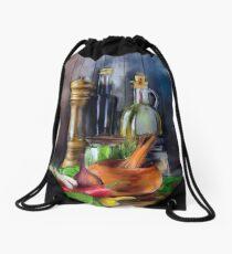 Salad Dressing Drawstring Bag