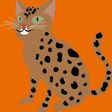Bengal Cat by MisterPixel