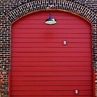 Red Freight Door by Cynthia48