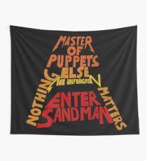 Metallica - Songs Wall Tapestry