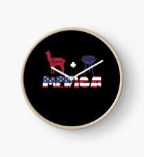 Alpaca plus Barbeque Merica American Flag Reloj