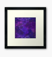 Purple Dragon Scales Framed Print