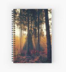 Quiet Forest Spiral Notebook