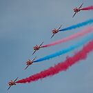 The Red Arrows by Stephen Liptrot