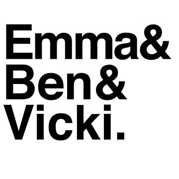 Emma Ben Vicki by loeye