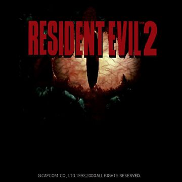 Resident Evil 2 Menu Screen by omfgtimmy