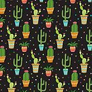 Cute Cactus Pattern by Twosided