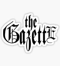 the GazettE Sticker