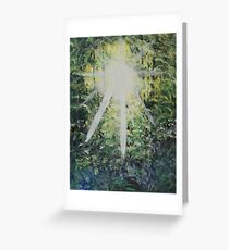 The light of hope. Greeting Card